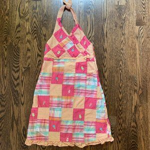 Gymboree Summer Plaid Halter Dress